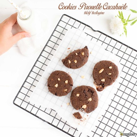 Cookies Pirouette Cacahuète LCHF