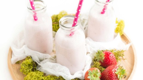 Smoothie Collagénial: Fraise & Coco #LCHF