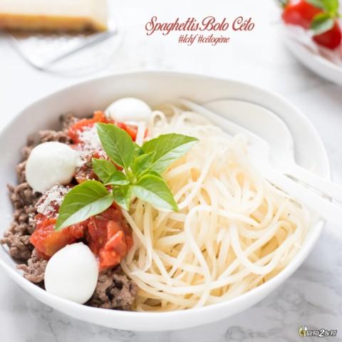Spaghettis Bolo Céto : mon secret #LCHF