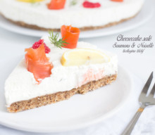 Cheesecake 2 saumons & noisette #LCHF