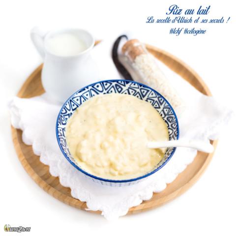 Riz au lait #LCHF: Recette et secrets d'Ulrich