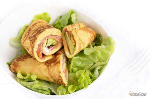 recette cétogène wraps à garnir saumon avocat