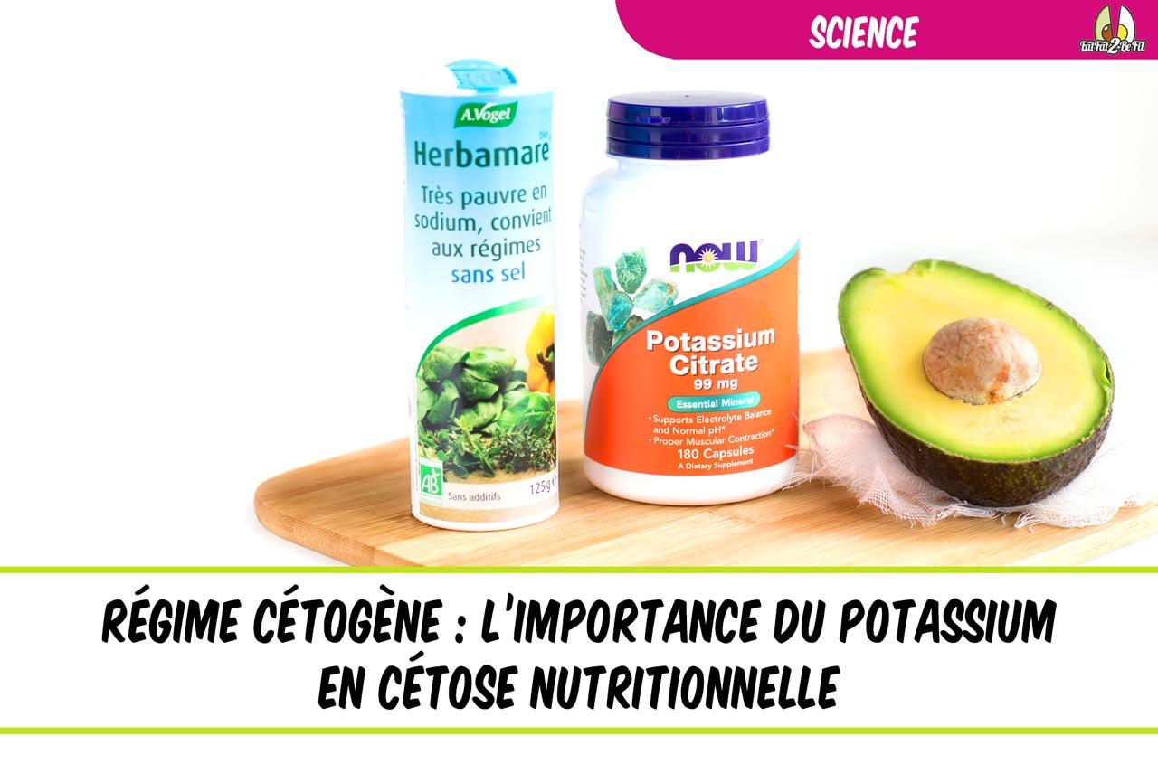 le potassium en régime cétogène dossier spécial