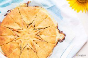 recette cétogène apéritif tarte rayons de soleil jambon roquefort
