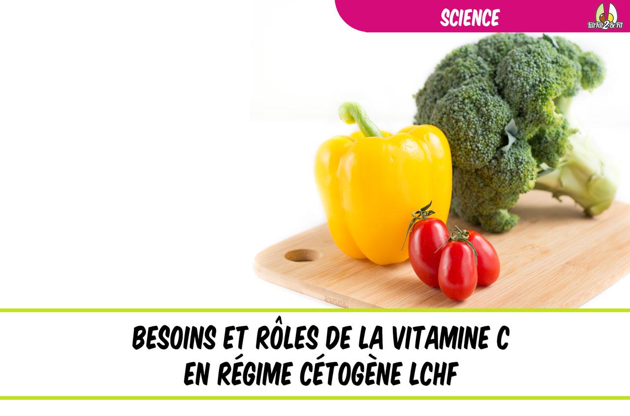 la vitamine c en régime cétogène