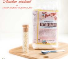 Amidon résistant ou comment transformer des glucides en fibres