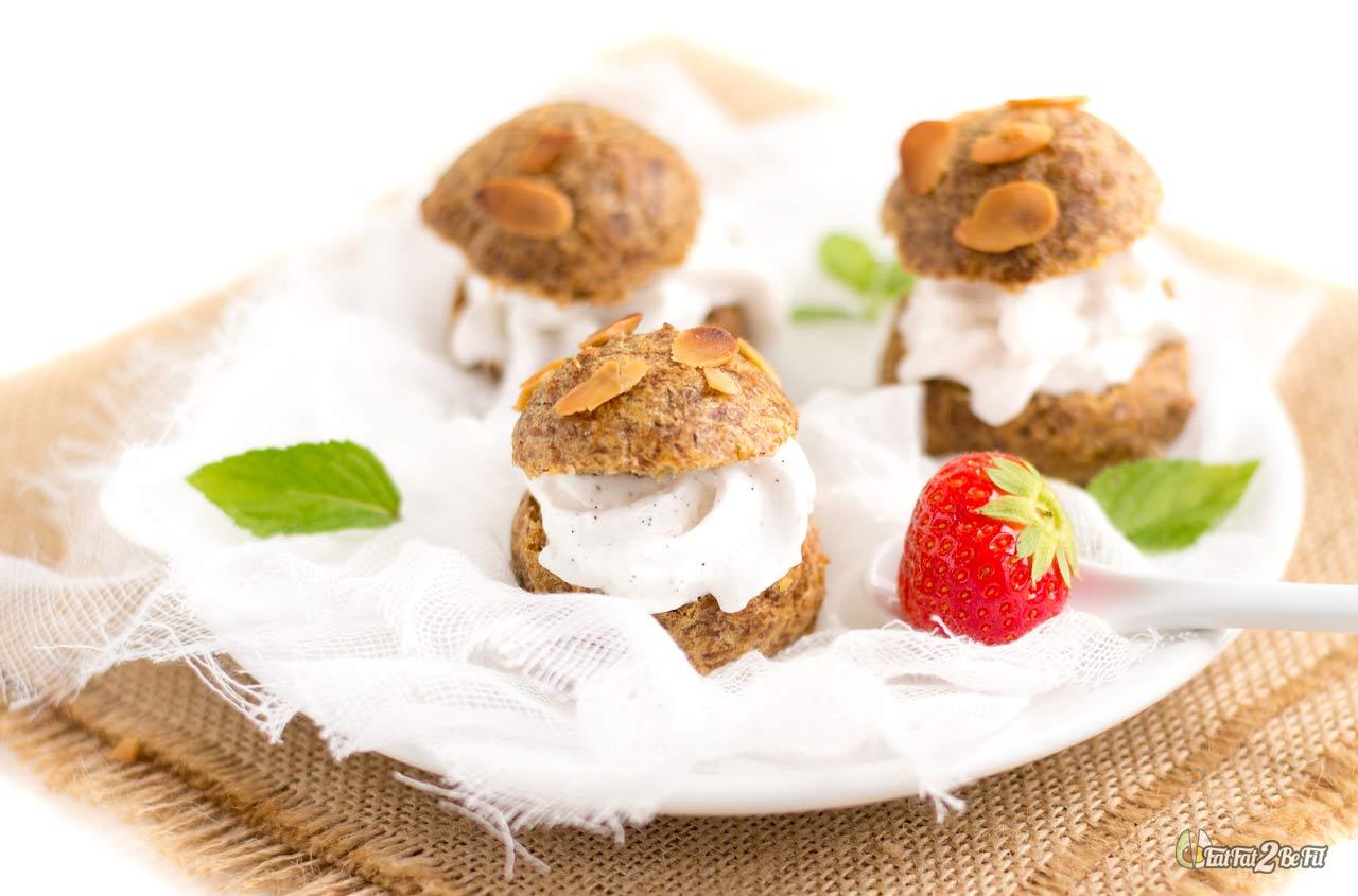 recette dessert cétogène pâte à choux numéro 42 de nelly