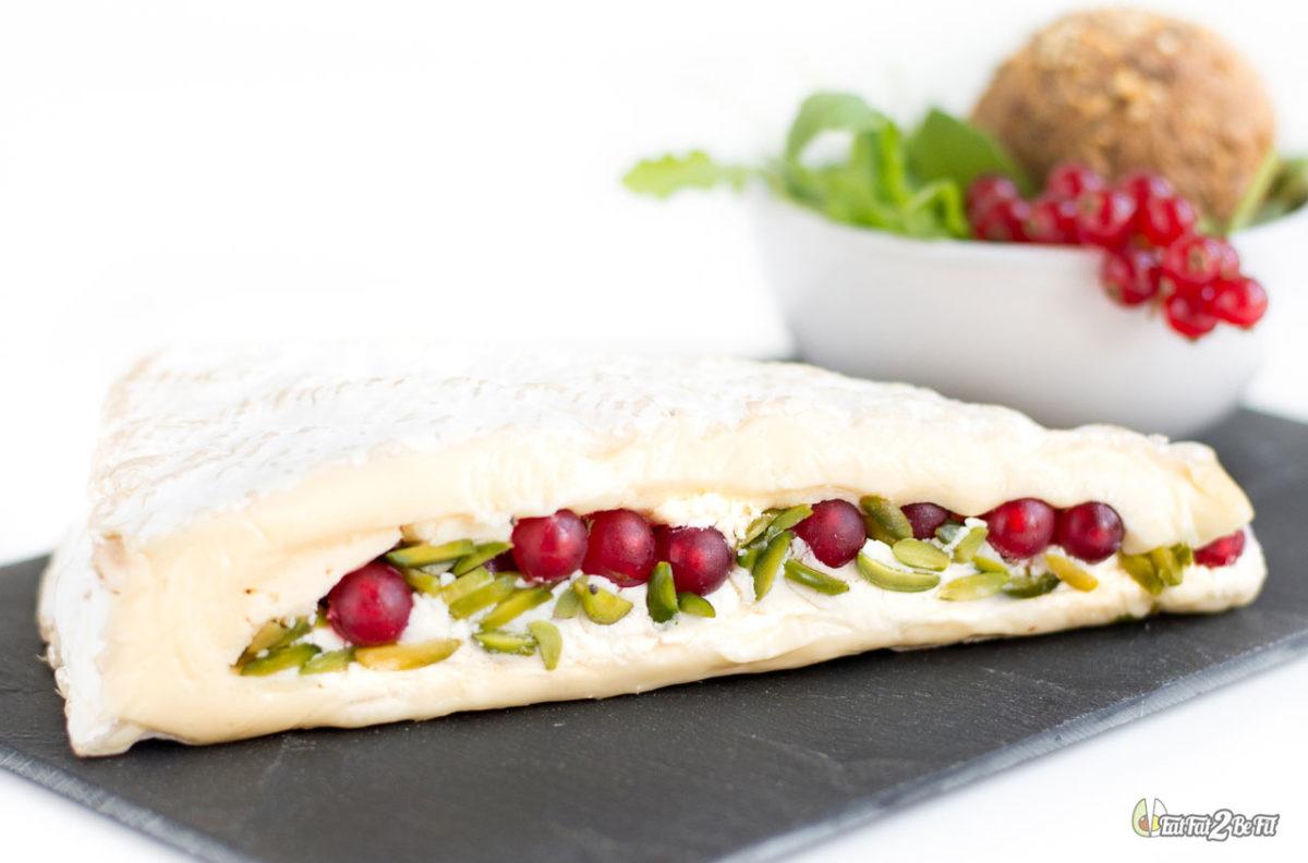 recette cétogène fromage brie fourré mascarpone pistache