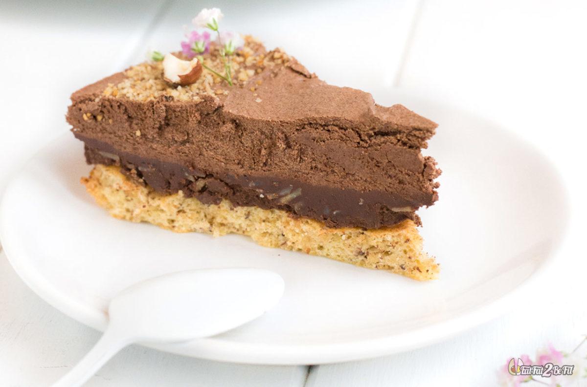 recette cétogène dessert gateau le trianon royal au chocolat sans gluten