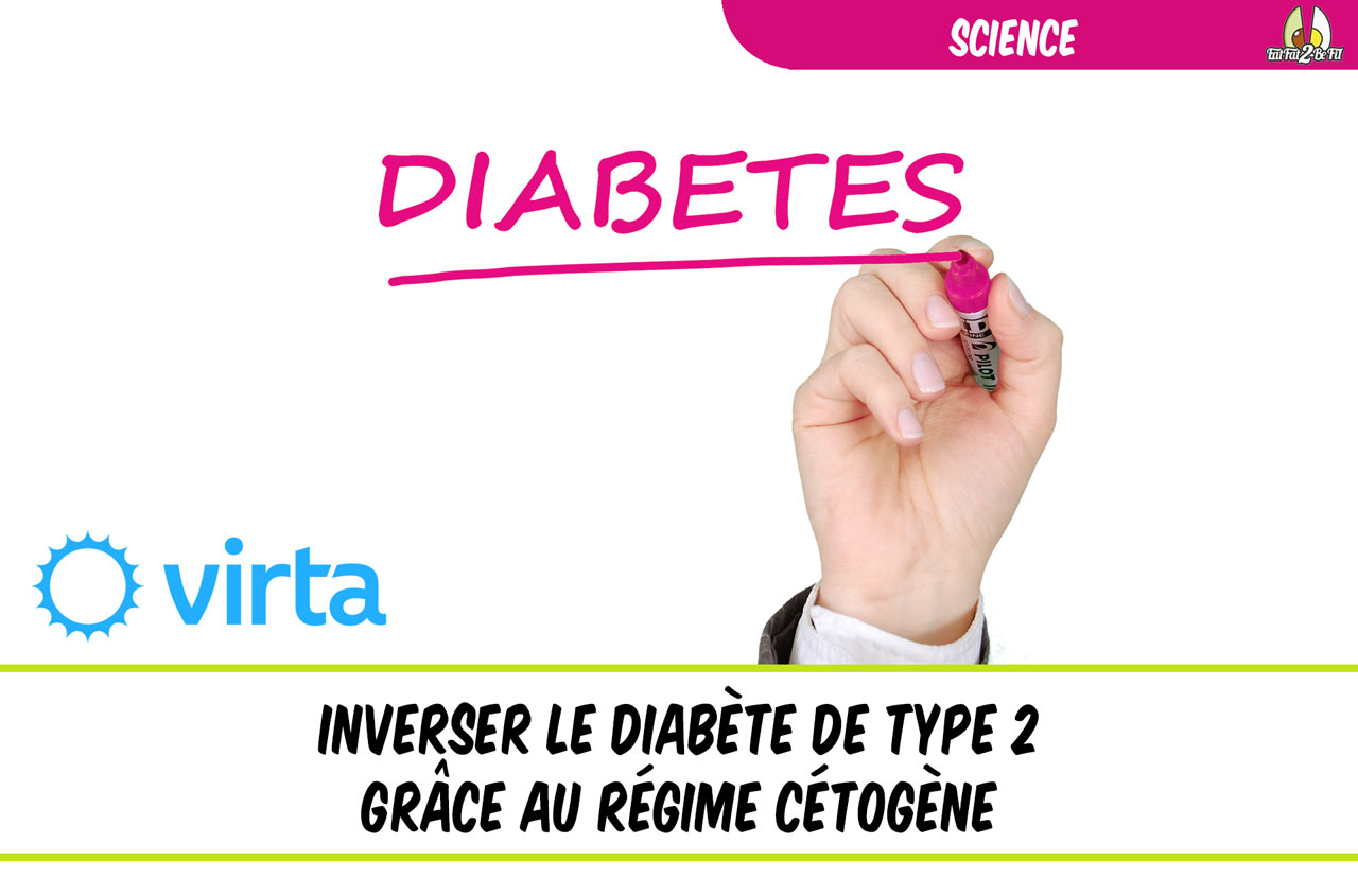 inverser le diabète de type 2 grâce au régime cétogène