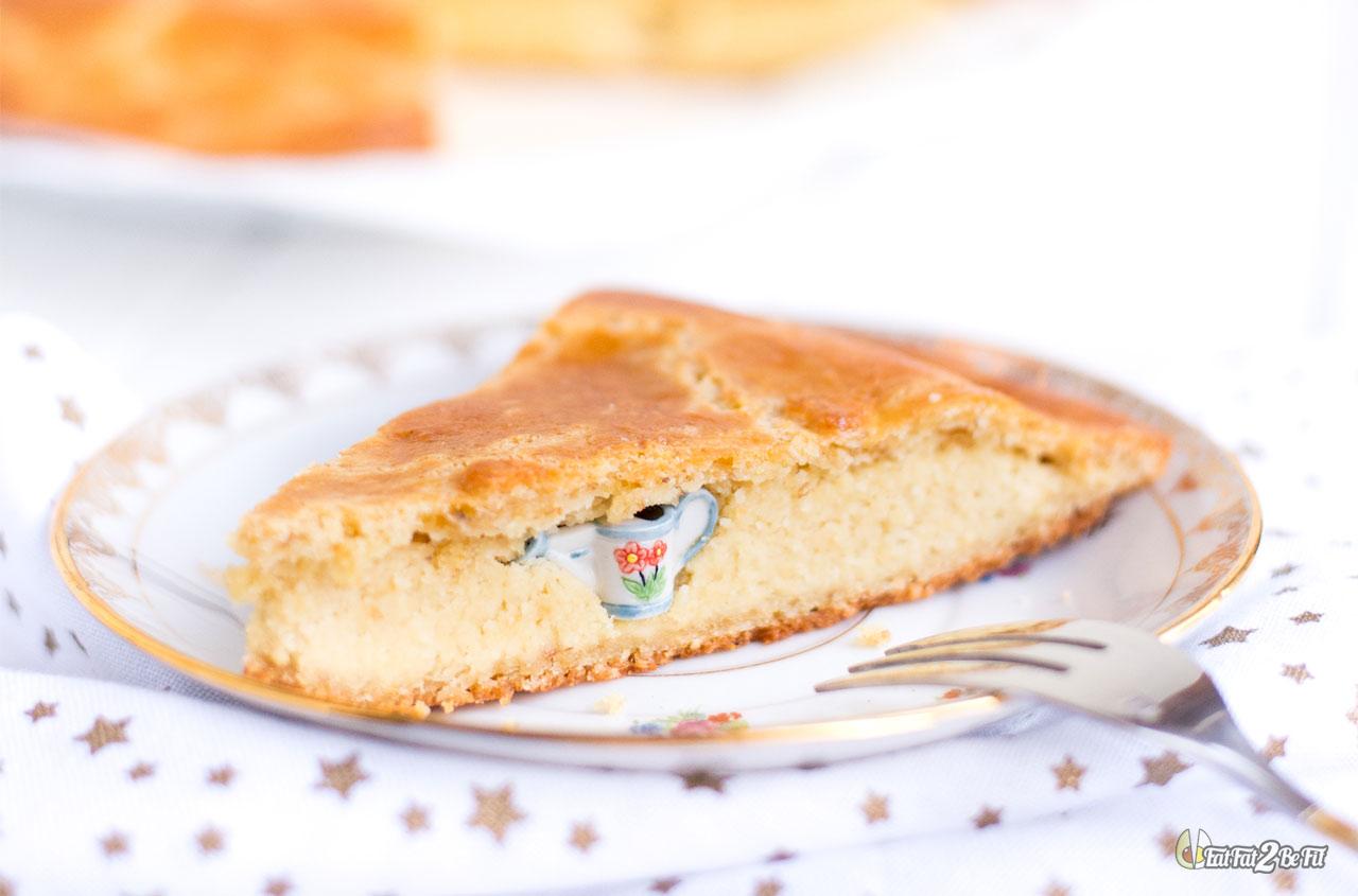 recette cétogène la galette des rois sans sucre à la frangipane