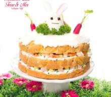 Sandwich cake #LCHF: Terre & Mer
