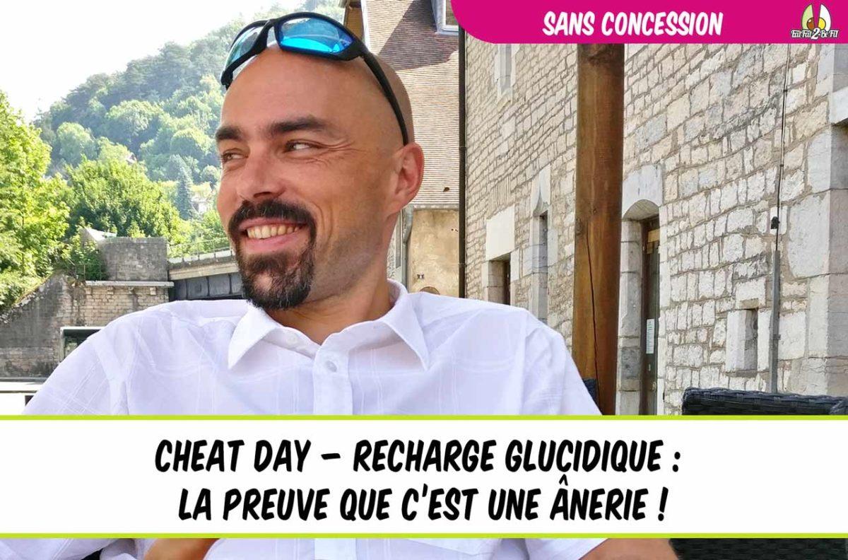 eatfat2befit ulrich génisson sans concession cheat day recharge glucidique