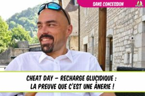 eatfat2befit ulrich génisson sans concession cheat day recharge glucidique