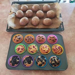 Pains et Muffins LCHF de Marc