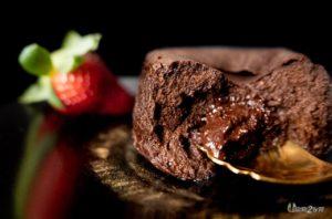 recette cétogène dessert mi-cuit coulant chocolat sans sucre sans gluten