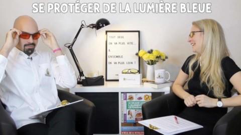 Se protéger de la lumière bleue grâce aux lunettes jaunes ou rouges