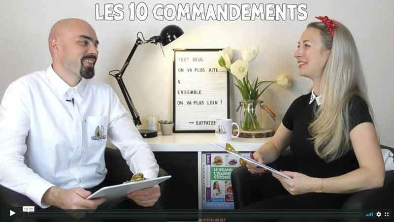 Les 10 commandements cétogène avec Nelly et Ulrich