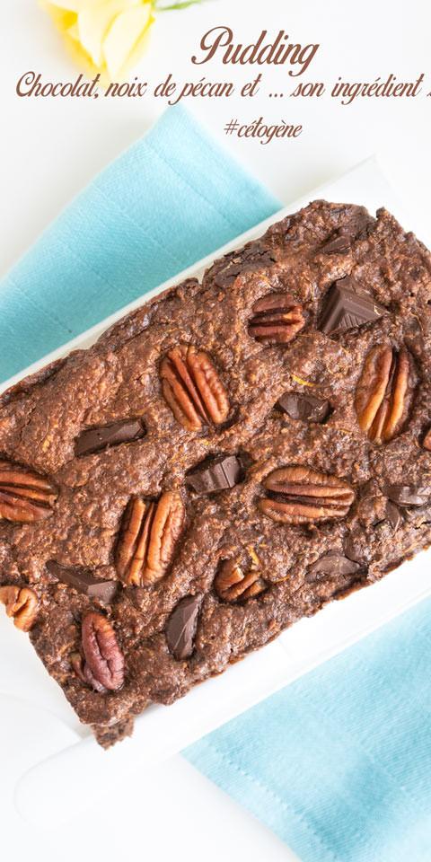 Recette-cetogene-pudding-chocolat-noix-pecan-courgette