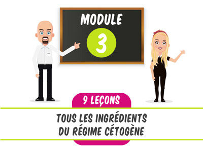 module 3 de la céto-academy eatfat2befit