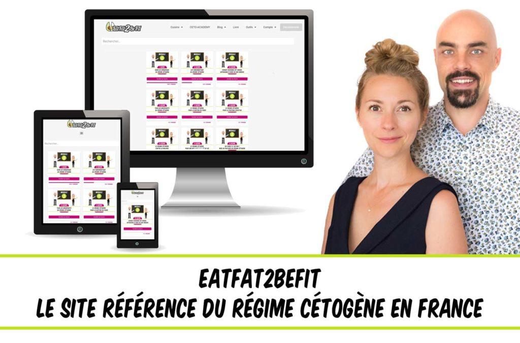 EatFat2BeFit site référence du régime cétogène