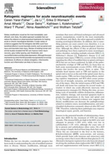 EatFat2BeFit étude neurotroma