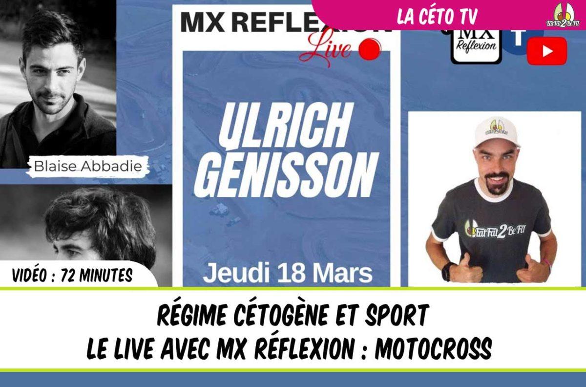 live mx reflexion régime cétogène sport motocross