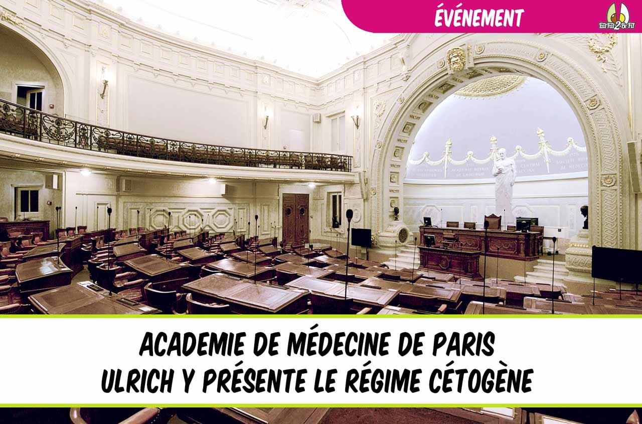 EatFat2BeFit Académie médecine paris